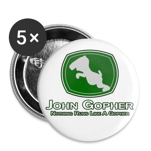 John Gopher Buttons - Large Buttons