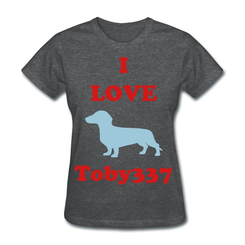 I love Toby337 GIRLS - Women's T-Shirt