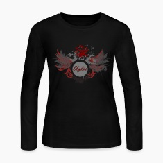 Skydive With Wings Long Sleeve Shirts