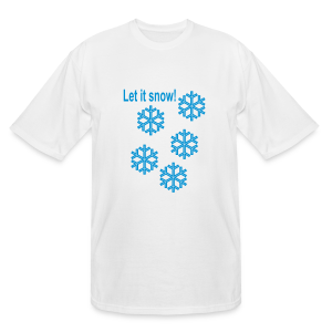 Let it snow - Men's Tall T-Shirt