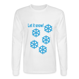 Let it snow - Men's Long Sleeve T-Shirt