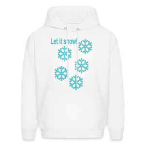Let it snow - Men's Hoodie