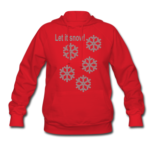Let it snow - Women's Hoodie