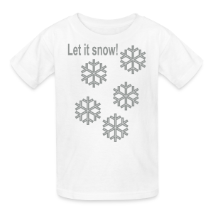 Let it snow - Kids' T-Shirt