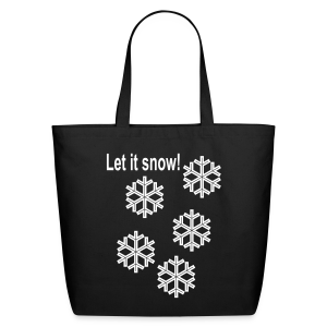 Let it snow - Eco-Friendly Cotton Tote