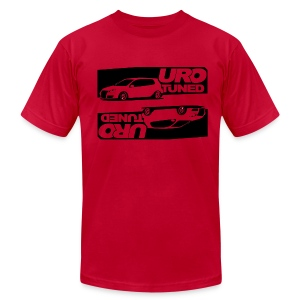 URO-Tuned Mk5 Grey - Men's T-Shirt by American Apparel
