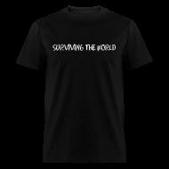 T-Shirts ~ Men's T-Shirt ~ Surviving the World (Front + Back)