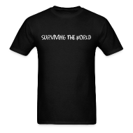 T-Shirts ~ Men's T-Shirt ~ Surviving the World (Front + Back)