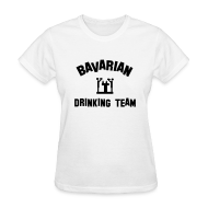 T-Shirts ~ Women's T-Shirt ~ Drinking Team Womens Tshirt White