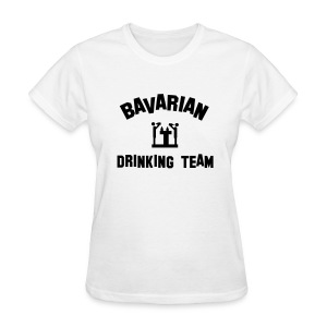 Drinking Team Womens Tshirt White - Women's T-Shirt