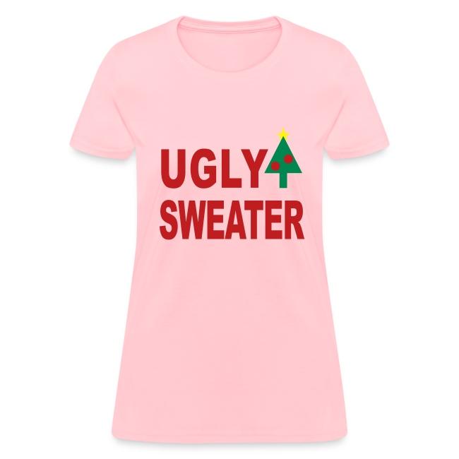 ugly christmas sweater - Pink Ugly Christmas Sweater