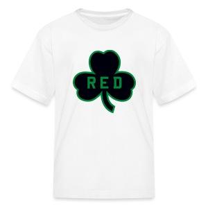 Red Shamrock Children's T-Shirt - Kids' T-Shirt