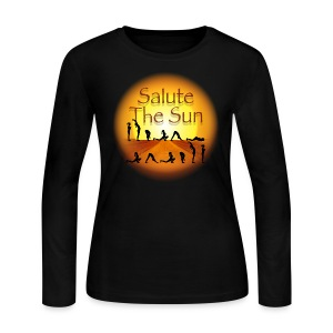 Salute the Sun - Women's Long Sleeve Jersey T-Shirt
