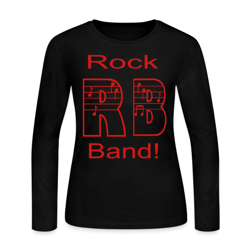 Rock Band - Women's Long Sleeve Jersey T-Shirt