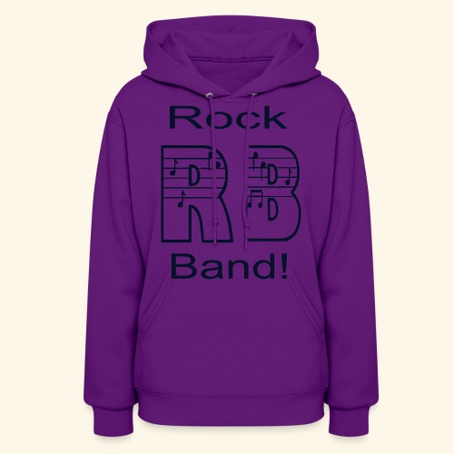 Rock Band - Women's Hoodie