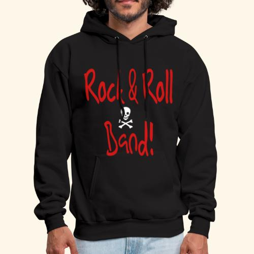 Rock and Roll Band - Men's Hoodie
