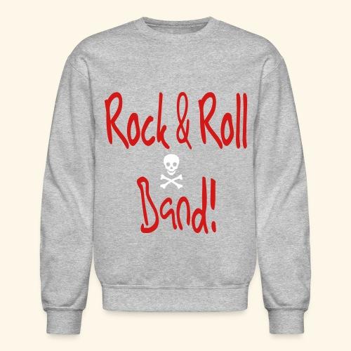 Rock and Roll Band - Crewneck Sweatshirt