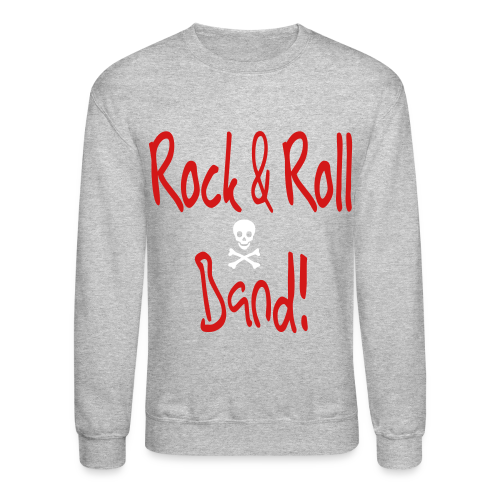 Rock and Roll Band - Crewneck Sweatshirt