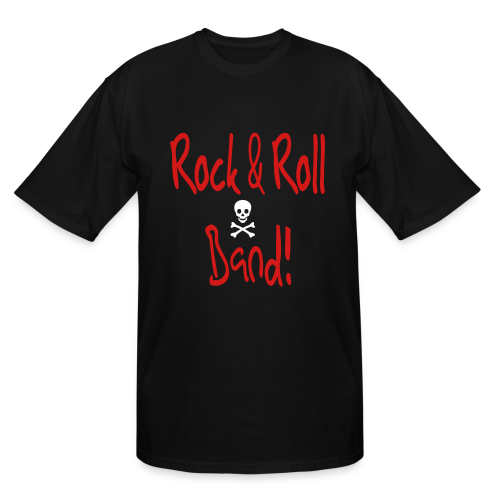 Rock and Roll Band - Men's Tall T-Shirt