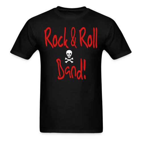 Rock and Roll Band - Men's T-Shirt