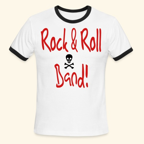 Rock and Roll Band - Men's Ringer T-Shirt