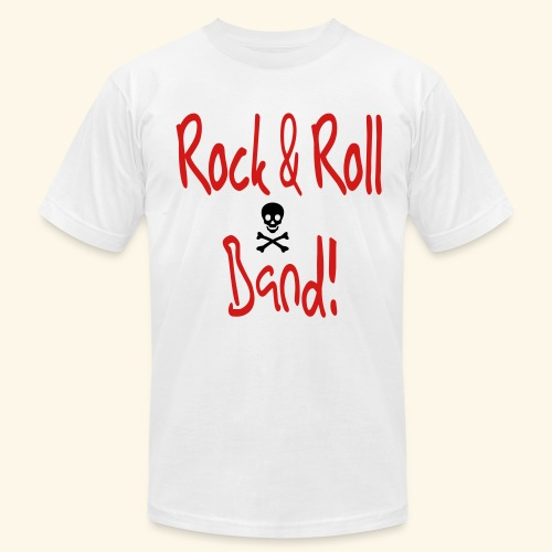 Rock and Roll Band - Men's Fine Jersey T-Shirt
