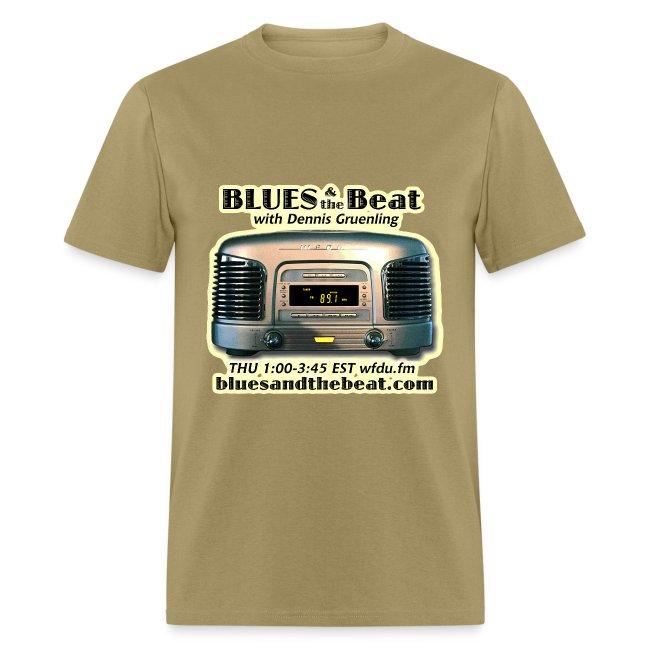 Blues & the Beat t-shirt (tan)