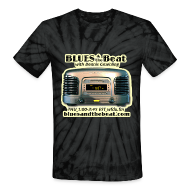 T-Shirts ~ Unisex Tie Dye T-Shirt ~ Blues & the Beat tie-dye t-shirt (navy)
