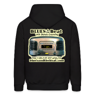 Hoodies ~ Men's Hoodie ~ Blues & the Beat hoodie (black)