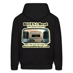 Blues & the Beat hoodie (black) - Men's Hoodie