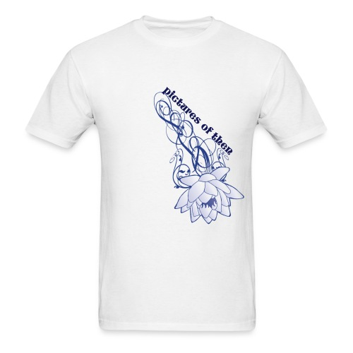 pictures of then - GROWING DOWN - Men's T-Shirt