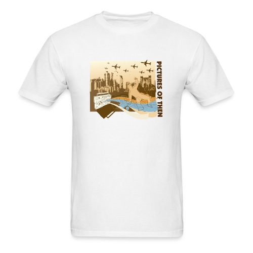 pictures of then - GHETTO BLASTER - Men's T-Shirt