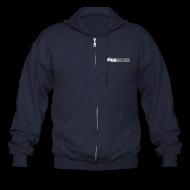 Zip Hoodies & Jackets ~ Men's Zip Hoodie ~ Diggnation Zipper Hoodie