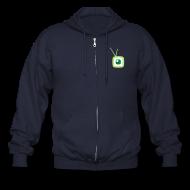 Zip Hoodies & Jackets ~ Men's Zip Hoodie ~ Revision3 Zipper Hoodie