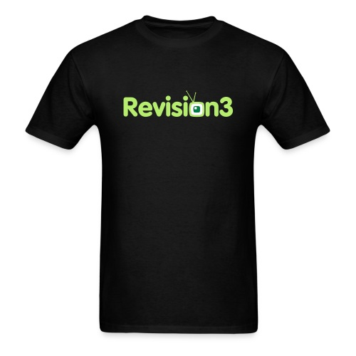 Revision3 Logo T-Shirt - Men's T-Shirt