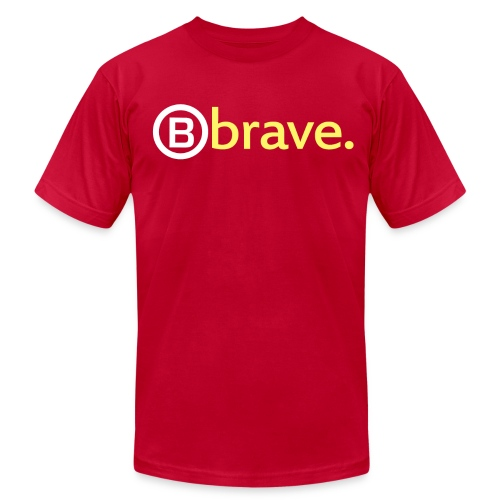 'B' Brave - Men's Fine Jersey T-Shirt