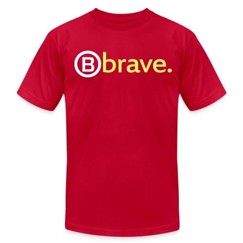 'B' Brave - Men's  Jersey T-Shirt