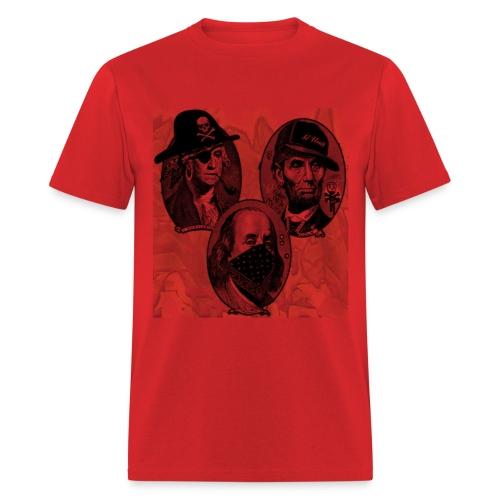 Gangsta Presidents - Men's T-Shirt