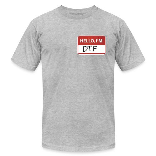 DTF Nametag T-Shirt - Men's  Jersey T-Shirt