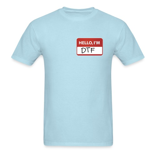 DTF Nametag T-Shirt - Men's T-Shirt