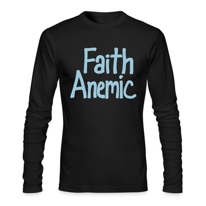 Faith Anemic - Men's Long Sleeve T-Shirt by Next Level