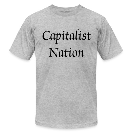 Capitalist Nation t-shirt - Men's  Jersey T-Shirt