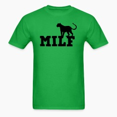 MILF with cougar (mom I'd like to F***) T-Shirts