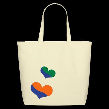 liquid heart Bags