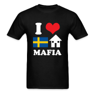 T-Shirts ~ Men's T-Shirt ~ I Love Swedish House Mafia Black