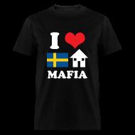 T-Shirts ~ Men's T-Shirt ~ I Love Swedish House Mafia Black