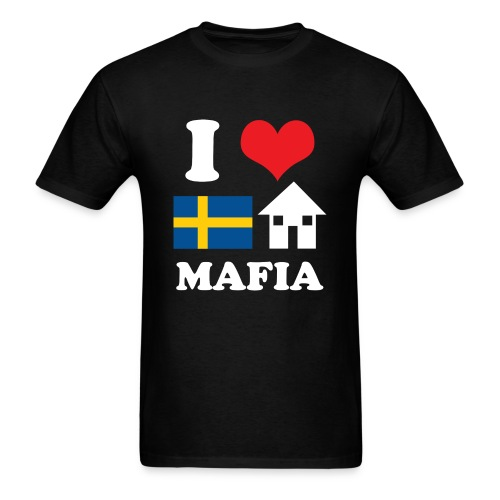 I Love Swedish House Mafia Black - Men's T-Shirt