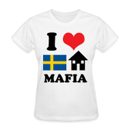 T-Shirts ~ Women's T-Shirt ~ Woman - I Love Swedish House Mafia
