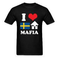 T-Shirts ~ Men's T-Shirt ~ Woman - I Love Swedish House Mafia Black