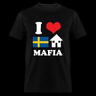 T-Shirts ~ Men's T-Shirt ~ Woman - I Love Swedish House Mafia Black
